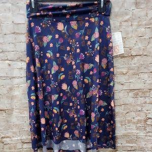 2/$25 XS Lularoe Azure skirt NWT